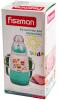 """Бутылочка детская для кормления Fissman Babies """"Забавное купание"""" 150мл с ремешком, аквамарин"""