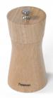 Млин для спецій (перцемолка) Fissman Spice Lanjit 11х5см, корпус світле дерево