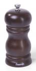 Млин для спецій (перцемолка) Fissman Spice Rossey 11х5см, корпус темне дерево
