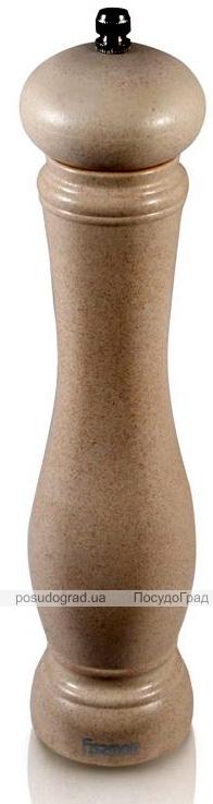 Мельница для специй (перцемолка) Fissman Spice 25х6см, бамбуковый бежевый корпус