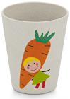 """Стакан дитячий Fissman """"Морквина"""" 300мл з бамбукового волокна"""
