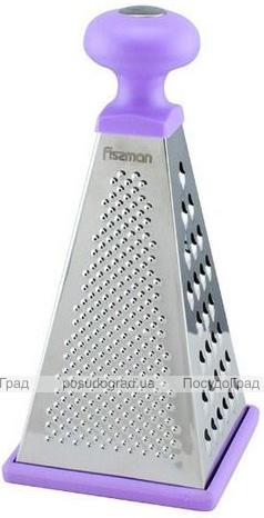 Терка 4-х гранная Fissman Meotida Pyramida с пластиковой ручкой
