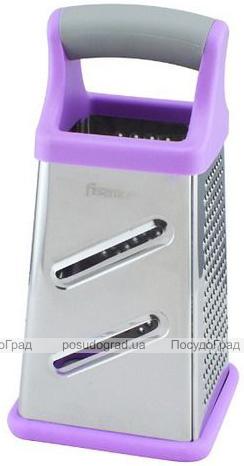Терка 4-х гранная Fissman Meotida с пластиковой ручкой, 21х11см
