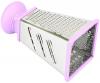 Терка 4-х гранная Fissman Meotida Pyramida 21см с пластиковой ручкой