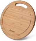Дошка обробна Fissman бамбукова Ø33см