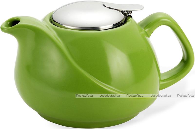 Чайник заварочный Fissman ProfiTea 750 мл (зеленый) с ситечком
