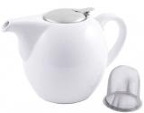 Чайник заварювальний Fissman ProfiTea 1300мл (білий) з ситечком