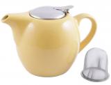 Чайник заварювальний Fissman ProfiTea 750мл з ситечком (жовтий)