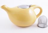 Чайник заварювальний Fissman ProfiTea 1300мл (жовтий) з ситечком