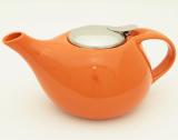 Чайник заварочный Fissman ProfiTea 750мл с ситечком (оранжевый)