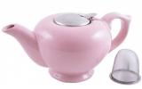 Чайник заварочный Fissman ProfiTea 1200мл (розовый) с ситечком