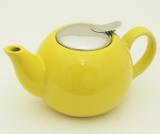 Чайник заварювальний Fissman ProfiTea 750мл (жовтий) з ситечком