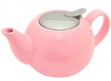 Чайник заварювальний Fissman ProfiTea 750мл (рожевий) з ситечком