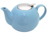 Чайник заварювальний Fissman ProfiTea 1250мл (блакитний) з ситечком