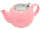 Чайник заварочный Fissman ProfiTea 1250мл (розовый) с ситечком