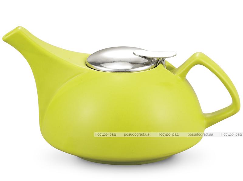 Чайник заварочный Fissman ProfiTea 900мл (зеленый) с ситечком