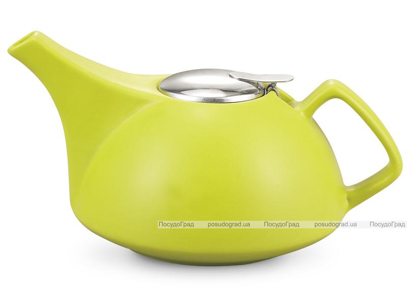 Чайник заварочный Fissman ProfiTea 1350мл (салатовый) с ситечком