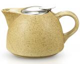 Чайник заварочный Fissman ProfiTea 650мл (песочный) с ситечком