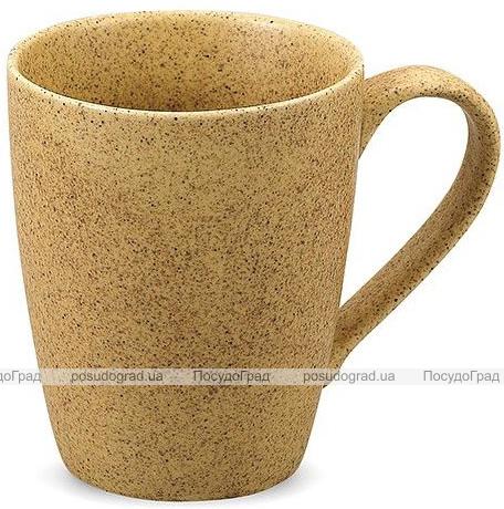 Кружка керамическая Fissman Miliani 300мл, бежевый песок