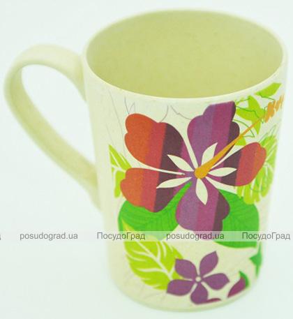 Кружка Fissman Primula 300мл из бамбукового волокна