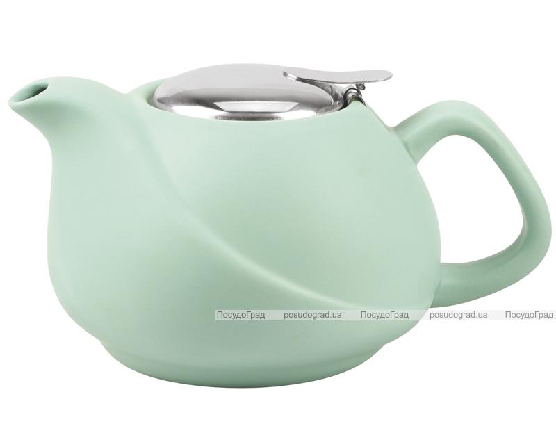 Чайник заварочный Fissman ProfiTea 750мл (аквамарин) с ситечком