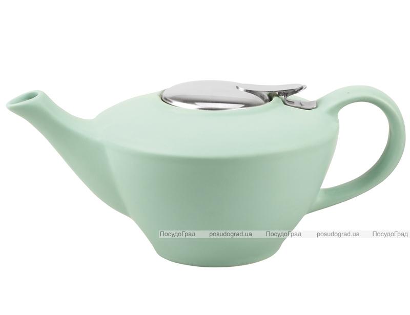 Чайник заварочный Fissman ProfiTea 850мл (аквамарин) с ситечком