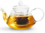 Чайник заварочный Fissman Lucky-9363 1000мл со стеклянным ситечком