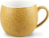 Кружка керамическая Fissman Liana 320мл, песочная