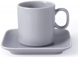 Чайна пара Fissman Fleuretta чашка 200мл з блюдцем