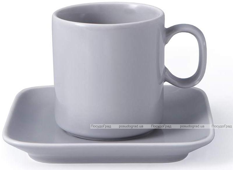 Чайная пара Fissman Fleuretta чашка 200мл с блюдцем