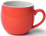 Кружка керамическая Fissman Liana 320мл, оранжевая