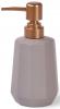 Набір аксесуарів Fissman Cappuccino-11 для ванної кімнати: дозатор, мильниця і стакан