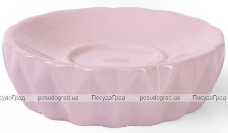 Набор аксессуаров Fissman Rose для ванной комнаты: дозатор, мыльница и стакан
