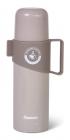 Термос Fissman Style Grey 350мл из нержавеющей стали