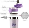 Термокружка Fissman Style Lilac 320мл из нержавеющей стали