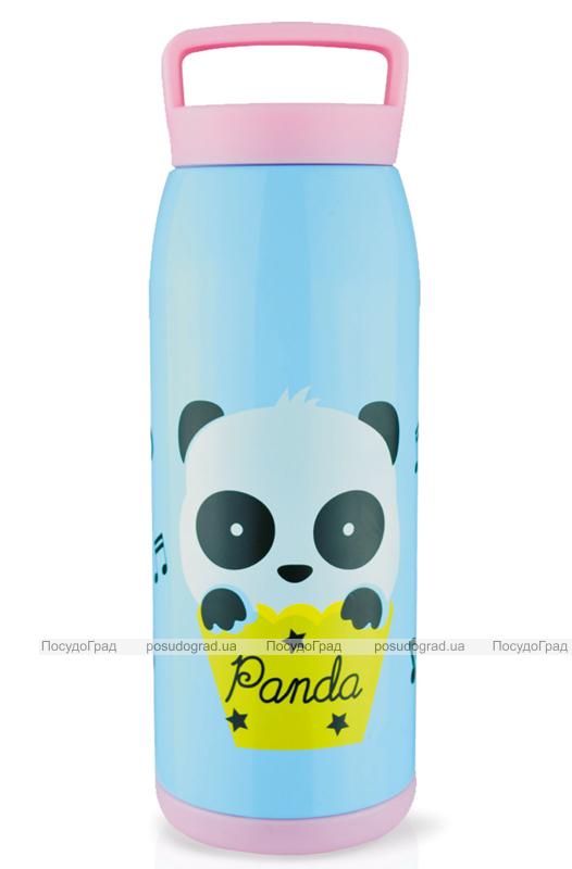 """Термос Fissman """"Panda"""" 450мл с ручкой"""