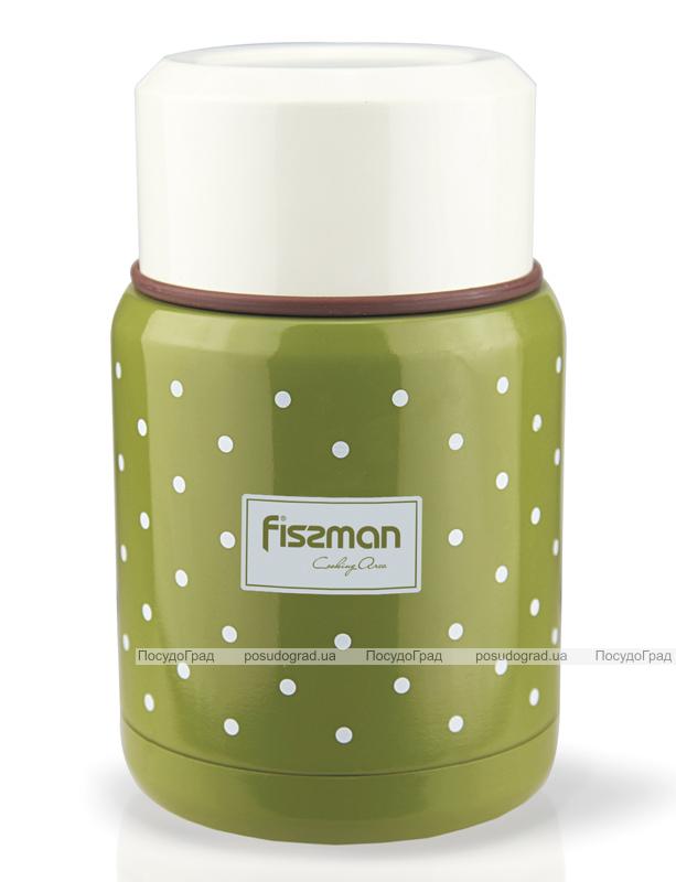 """Термос пищевой Fissman """"Cooking area"""" 350мл оливкового цвета"""