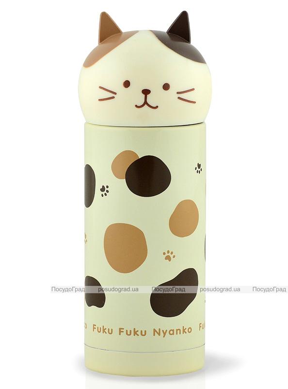 "Термос Fissman ""Cat Fuku"" 250мл бежевый"