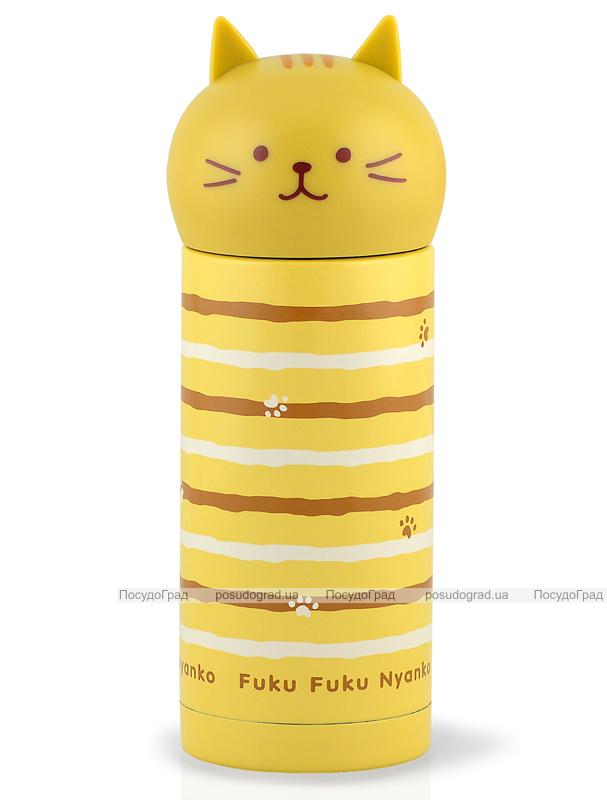 """Термос Fissman """"Cat Fuku"""" 250мл желтый"""