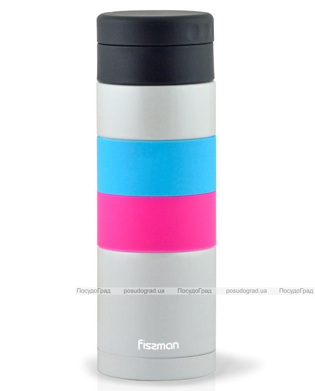 Термос-чашка Fissman Stripes 350мл (термокружка)