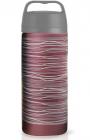Термос-чашка Fissman Cool 350мл бордовый (термокружка)