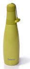 Термокружка Fissman Skittle Green 380мл з нержавіючої сталі