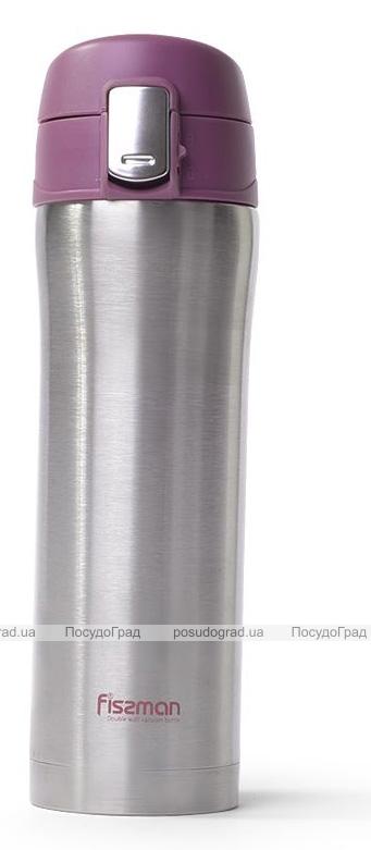 Термос Fissman Joranne Purple 420мл з нержавіючої сталі