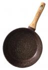 Сковорода Fissman Mosses Stone Ø26см с деревянной ручкой