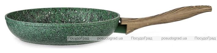 Сковорода Fissman Malachite Ø26см с антипригарным покрытием EcoStone