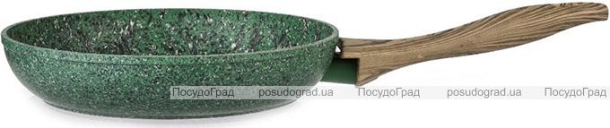 Сковорода Fissman Malachite Ø28см с антипригарным покрытием EcoStone