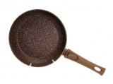 Сковорода Fissman Smoky Stone Ø20см зі знімною ручкою