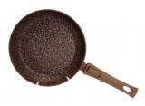 Сковорода Fissman Smoky Stone Ø24см зі знімною ручкою