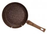 Сковорода Fissman Smoky Stone Ø26см зі знімною ручкою