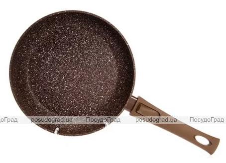 Сковорода Fissman Smoky Stone Ø26см со съемной ручкой